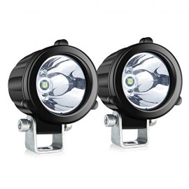 2 Inch Round LED Pods Spot LED Driving Lights 2 Pcs 20W Waterproof Off Road Work Lamp