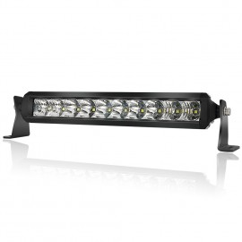 LED Light Bar 10 inch - 4WDKING Screwless 50W IP69K Waterproof Off-Road LED Work Light