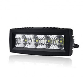 LED Light Flood Beam - 4 Inch 20W Wide Angle Light Bar Single Row Work Light Pod