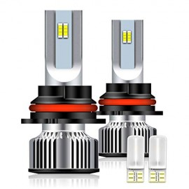 9007/HB5 LED Headlight Bulb, 1+1 Upgrade High/Low Beam