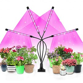LED Grow Light for Indoor Plants, 4WDKING 40W Full Spectrum Plant Growing Lamps
